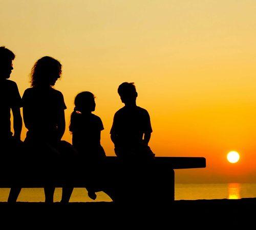 marche mare tramonto famiglia agriturismo valle del metauro