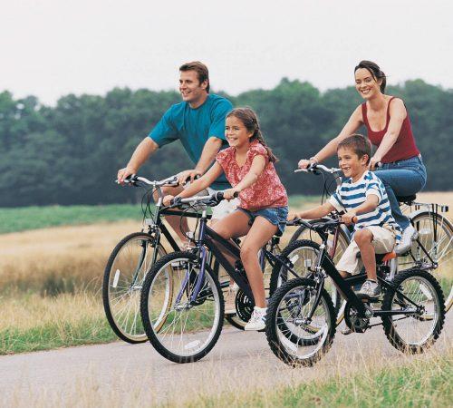 passeggiata in bicicletta colline marchigiane agriturismo valle del metauro